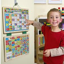 Walmart Melissa Doug Kids Magnetic Responsibility Chart