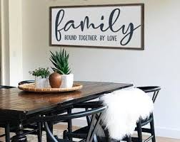 Family room wall art Sibling Family Sign Definition Of Family Sign Family Room Decor Dining Room Wall Art Large Living Room Wall Decor Farmhouse Sign 48 Emily Garrison Photography Family Room Art Etsy