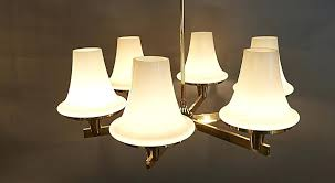 full size of bell shaped glass chandelier wrought iron shades home improvement charming site a 6