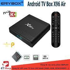 Android TV Box X96 Air - Amlogic S905X3, 4GB RAM, 32GB ROM, Android 9, Wifi  MU-MIMO (Freeship) - 47shopnet