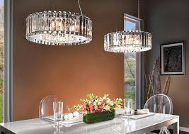 dining room crystal chandelier linear