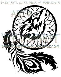 Aztec Dream Catcher Tattoo Wolven Dream Catcher Tattoo Design Photos Pictures and Sketches 57