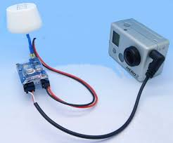 fpv aerial camera gopro a v radio transmitter receiver rf 5 8ghz total 8 frequency channel the working channel is able to set via the dip switch on transmitter
