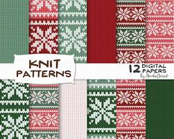 Christmas Pattern Sweater Unique Inspiration