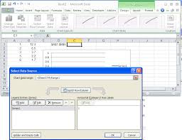 Create A Chart From Selected Range Of Cells In Excel Creating A Chart Using A Dynamic Named Range In Excel 2010