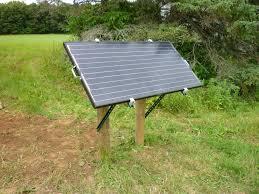 remote solar panel