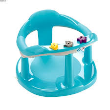 safety st bathtub baby bath seat swivel blue chair ring w suction cups infant baby