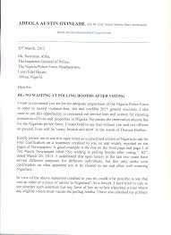 Open Letter To The Inspector General Of Police Newswirengr