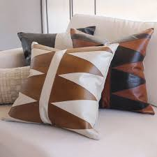 cool couch pillows. Modren Couch As Shown Modern Primitive Pillow Size 18 X Inches Material Leather  Color On Cool Couch Pillows D