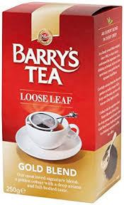 Barrys Tea <b>Gold Blend Loose</b> Leaf (2 pack 250g) from Ireland - Buy ...