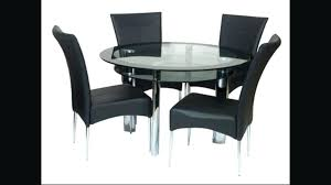 large size of round glass table and chairs harveys dining black in furniture winsome