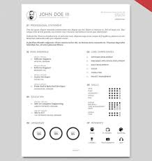 resume templaet 40 best 2018s creative resume cv templates printable doc