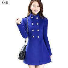 long white pea coat fashion women overcoat winter autumn outerwear trench las long pea coats tweed