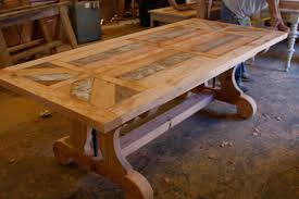 Custom Made Dining Room Furniture Exclusive Pallet Custom Wood Table Tops For Sale Modern Kitchen