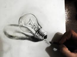 lightbulb 3d by by martin f galery