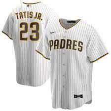 Men's Nike Fernando Tatis Jr. White San ...