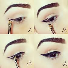 how to get the perfect pinup cat eye eyeliner