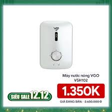 Máy Nước Nóng VGO VSH102 (W)