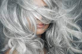 going grey gracefully is the new hair