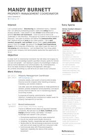 Hausverwaltung Resume Proben Visualcv Lebenslauf Proben Datenbank