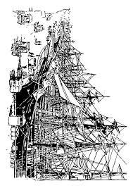 Kleurplaat Schip Malvorlage Sinkendes Schiff Ausmalbild 25980