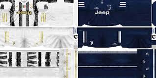 الجرافيك الجديد للبيس ١٧ بستايل و ا… Ultigamerz Pes 6 Juventus 2020 21 Home Away Kits
