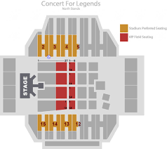 Hall Of Fame Concert Seating Chart 59 Most Popular Tom Benson Hall Of Fame Stadium Seating Chart