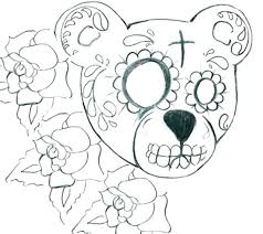 Day Of The Dead Coloring Book Adult Coloring Books Media Lab