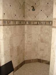 appealing tile bathroom. Beautiful Travertine Tile Bathroom Wall Ideas For Decoration : Appealing Using Brown Glass M