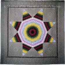 582 best AQS , Paducah, Chicago & Quilts images on Pinterest ... & Kettle Moriane Star Quiltmaker: Diane Gaudynski From National Quilt Museum ( Museum of the American Quilter's Society), Founders Collection. Adamdwight.com