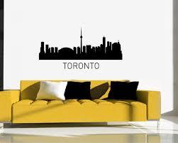 city of canada vinyl decals silhouette