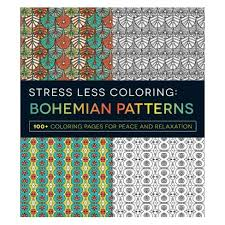 Stress Less Coloring Bohemian Patterns 100 Coloring Pages For
