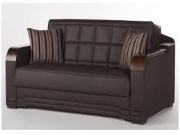 The Willow Convertible Full Size Loveseat Sofa Bed Clack by