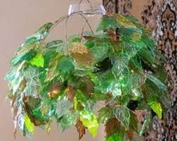 leaves chandelier