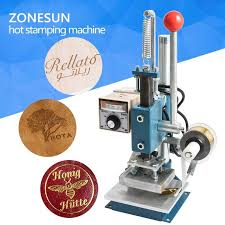 diy hot foil stamping luxury 1set manual hot foil stamping machine foil stamper leather printer