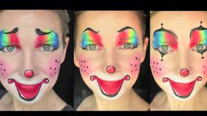 how to facepaint a clown in 3 easy steps rubies makeup tutorial