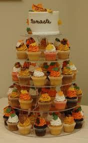 fall wedding cupcakes. Beautiful Cupcakes Autumn Wedding Cake And Cupcake Tower In Fall Cupcakes G