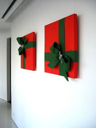 christmas decoration in office. Wrapped Art Office Christmas Decoration In M