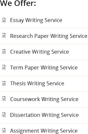 thesis paper research paper online assistance we offer