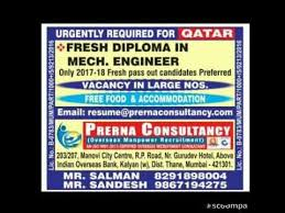 Resume No Nos Fascinating Jobs In Qatar For Freashers Mechanical Engineers Apply Soon Job In