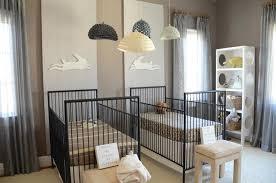 twin nursery design