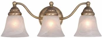 vaxcel vl35123a standford antique brass 3 light bathroom lighting fixture brass bathroom lighting fixtures