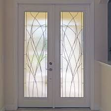 door inserts glass design