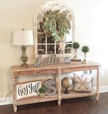 Awesome How To Decorate A Console Table 39 On Modern House with How To  Decorate A Console Table