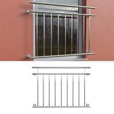 Balkongeländer Fenstergitter Französischer Balkon Edelstahl 128x90