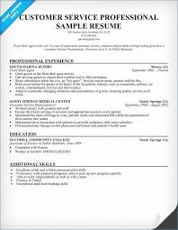 Customer Service Resume Sample Skills For Customer Service Resume artemushka 60