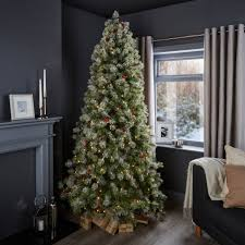 7ft 6In Fairview Pre-Lit & Pre Decorated Christmas Tree | Departments | DIY  at B&Q