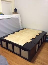 Shelf Bed Storage | DIY | Pinterest | Bedroom, Bedroom Storage and ...