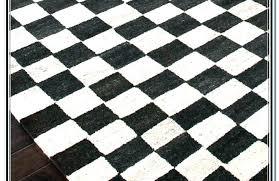 white rug runner black and white checd rug runner round large blue and white floor runner