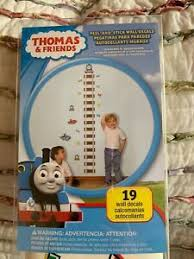 Thomas The Train Growth Chart Details About Thomas The Train Growth Chart Wall Decals Peel And Stick Tank Engine Stickers
